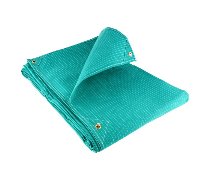Ripstop Canvas Tarpaulins - Green (17OZ)