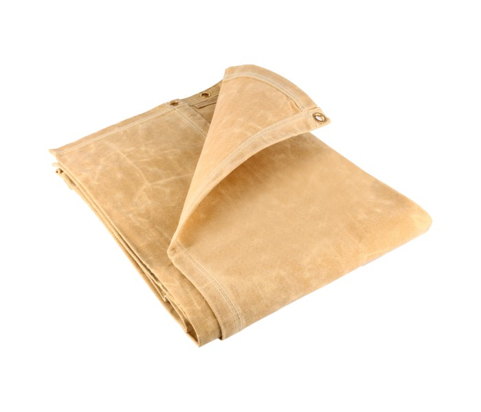 Canvas Tarpaulins - Tan (18OZ)