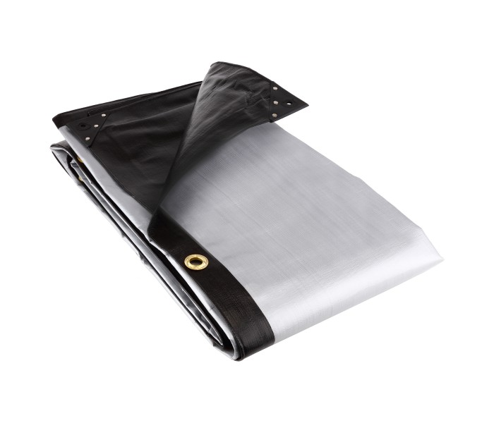 Black / Silver Heavy Duty Tarpaulins