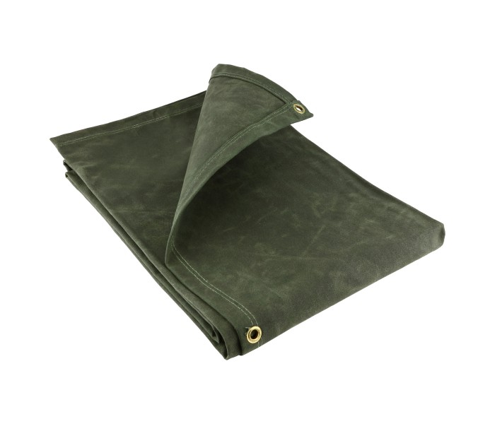 Heavy Weight Canvas Tarpaulins - Dark Green (21OZ)